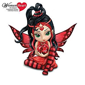 Heart Health Awareness Fairies Figurine Collection