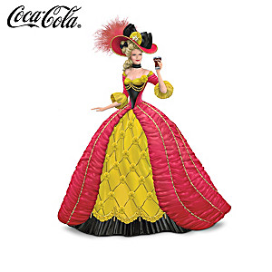 Coca-Cola Girl Figurines Inspired By Peter Carl Fabergé