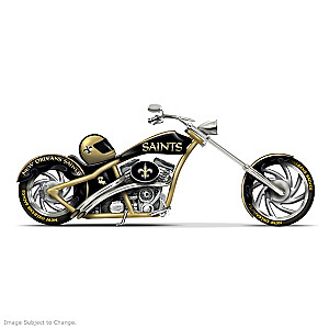 New Orleans Saints Choppers With Team Logos And Graphics