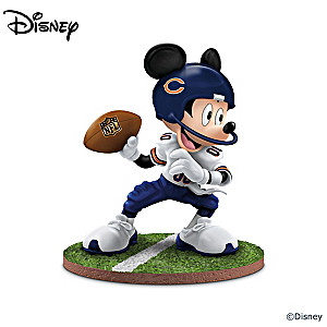 Chicago Bears Disney Character Figurine Collection