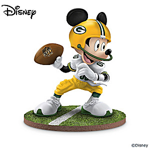 Green Bay Packers Disney Character Figurine Collection