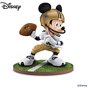 New Orleans Saints Disney Character Figurine Collection