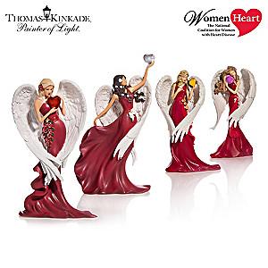 Thomas Kinkade Angel Figurines Support Women's Heart Health