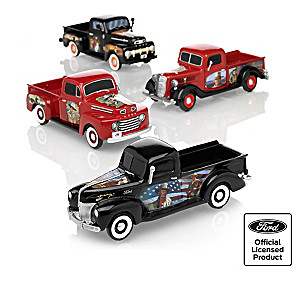 John Wayne Commemorative Classic Ford Truck Sculptures