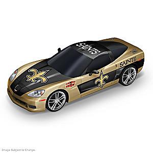 New Orleans Saints 1:43-Scale Car Sculpture Collection