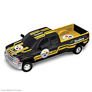 Steelers History-Making Chevy Pick-Up Sculptures