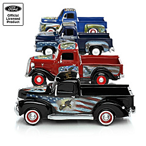 1:36-Scale Sculpted Ford Trucks With Ted Blaylock Eagle Art