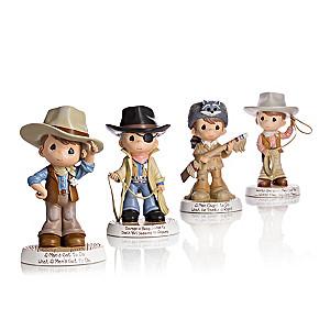 Precious Moments John Wayne Tribute Cowboy Figurines