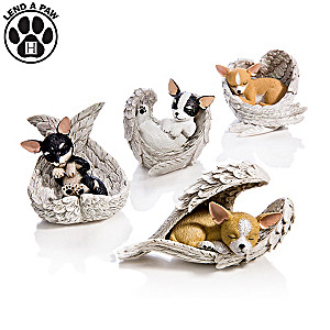 "Blake Jensen ""Paw Prints From Heaven"" Chihuahua Figurines"