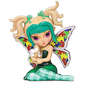Jasmine Becket-Griffith Autism Support Fairy Collection