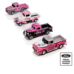 1:36-Scale Ford's Highway Of Hope Truck Sculpture Collection