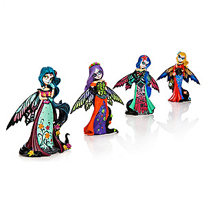 Nene Thomas Sugar Skull Fairy Figurine Collection