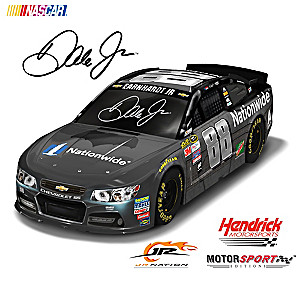 1:18-Scale Dale Jr. Race To The Finish Sculpture Collection