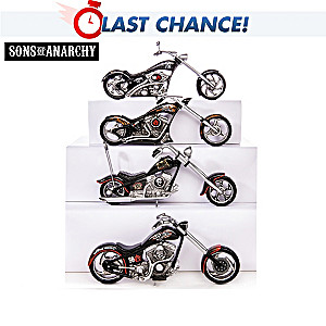 SONS OF ANARCHY Motorcycle Sculpture Collection