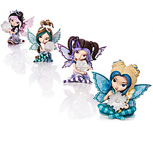 Jasmine Becket-Griffith Of Ice And Snow Figurine Collection