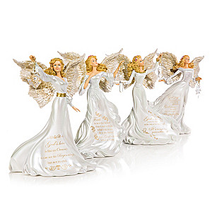 "Dona Gelsinger ""Guiding Lights"" Angel Figurine Collection"