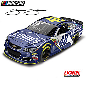 1:24-Scale Jimmie Johnson No. 48 2017 Diecast Car Collection