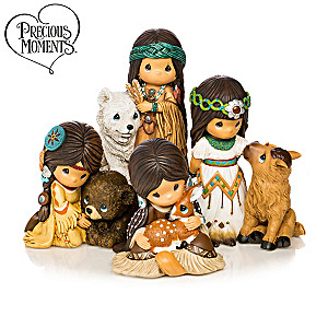 Precious Moments Spirit of Sacred Hearts Figurine Collection