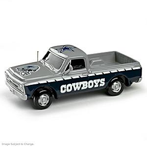 Dallas Cowboys Pick-Up Truck Sculpture Collection