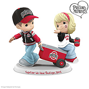 Precious Moments Buckeyes Fan Pride Figurine Collection
