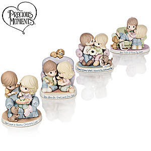 Precious Moments Our Love Feeds The Soul Porcelain Figurines