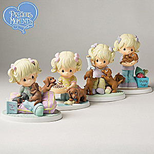 "Precious Moments ""Joy Of Dachshunds"" Figurine Collection"