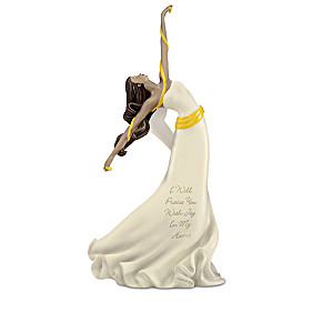 """Angels Of Praise"" Hand-Painted Figurine Collection"