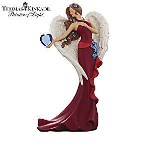 Thomas Kinkade Heart Health Awareness Angel Collection