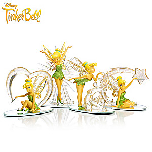 "Disney ""Follow The Sparkle"" Tinker Bell Figurine Collection"