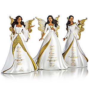 Keith Mallet My Strength, My Hope Angel Figurine Collection