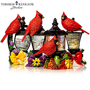 Thomas Kinkade Illuminated Remembrance Lantern Collection