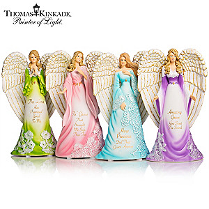 "Thomas Kinkade's ""Amazing Grace Angels"" Figurine Collection"