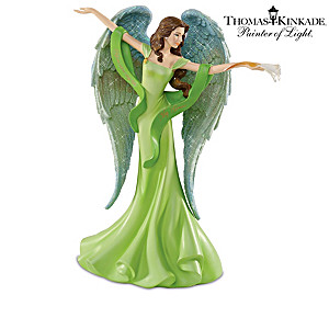Thomas Kinkade Angel Figurines With Swarovski Crystals