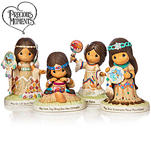 Laurie Prindle Precious Moments Charming Spirits Figurines