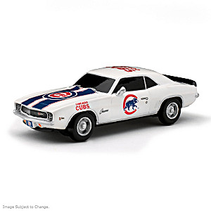 """Heartbeat Of The Chicago Cubs"" Muscle Car Sculptures"