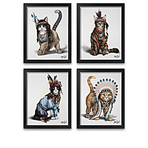 "Blake Jensen ""Feathers 'N Fur"" Framed Print Collection"