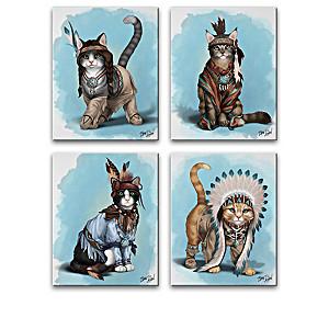 "Blake Jensen ""Feathers 'N Fur"" Canvas Print Collection"