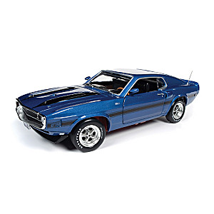 1:18-Scale 1969 Ford Mustang Fastback Diecast Car Collection