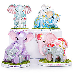 Blake Jensen Unforgettable Love Elephant Figurine Collection