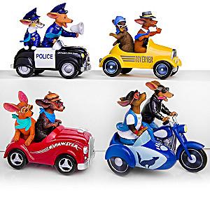 Blake Jensen Dachshund Racer Figurines
