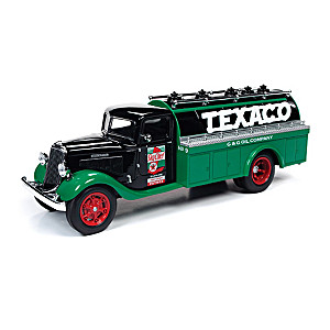 "1:34-Scale ""The Brands Of Texaco"" Diecast Truck Coin Banks"