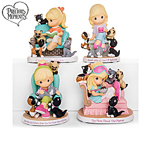 "Precious Moments ""You Had Me At Meow"" Figurine Collection"