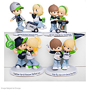 "Precious Moments ""Seahawks Pride"" Figurine Collection"