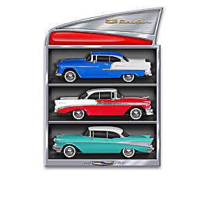1:24-Scale Tri-Five Chevrolet Bel Air Sculpture Collection