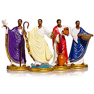 "Keith Mallet ""Miracles Of Jesus"" Figurine Collection"