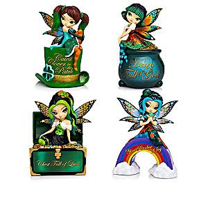 Jasmine-Becket Griffith Irish Fairy Figurine Collection