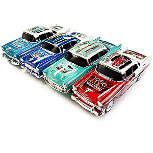 1:18-Scale Chevy Bel Air Commemorative Sculpture Collection