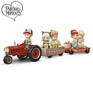 Precious Moments Happy Hayride Figurine Collection