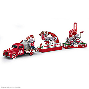 Ohio State University Parade Float Figurine Collection