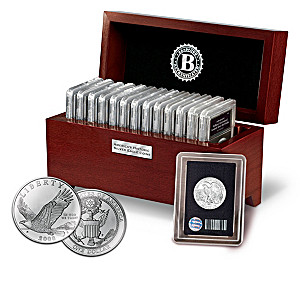 Genuine Silver U.S. American Eagle Coin Collection